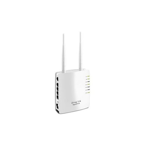 Draytek Wireless N Access Point 300Mbps Vigor AP810 (POE) 5xLAN(100Mbps)+USB(nyomtatónak)