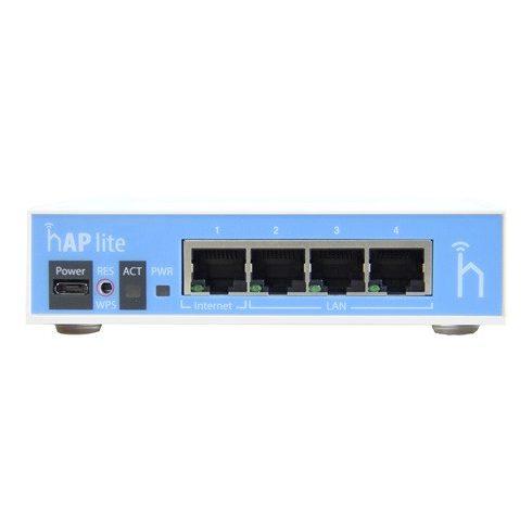 MikroTik RB941-2ND hAP Wi-Fi access point - Kék